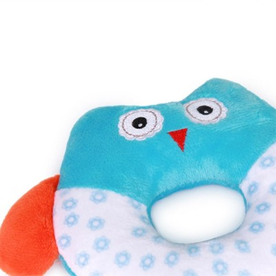 Cute Owl Baby Rattle Toy for Early Education, Audio-visual Touch Thinking Training Rattle Toy Baby Shaker Bell Toys