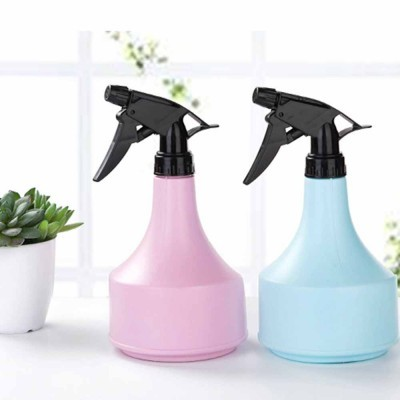 Hand Press Plastic Watering Can for Home and Garden, Gardening Tools Essential Spray Bottle