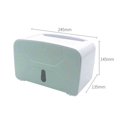 Multi-function Toilet Tissue Box High-quality ABS Free Punching Paper Towel Container with Strong Traceless Paste