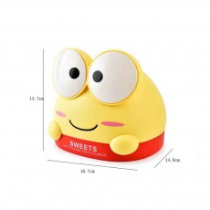 Cute Cartoon Frog Paper Towel Container, Environment-friendly Wheat Fiber Tissue Box, with Delicate Frog Appearance