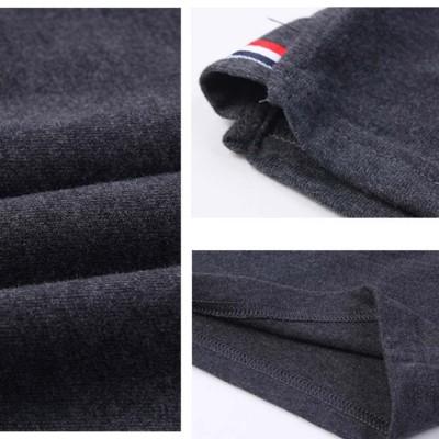 Femaroly Summer Male Pajamas Set Cotton Short Sleeved Thin Tops Bottoms Pants 2 Pcs Pj Sleepwear