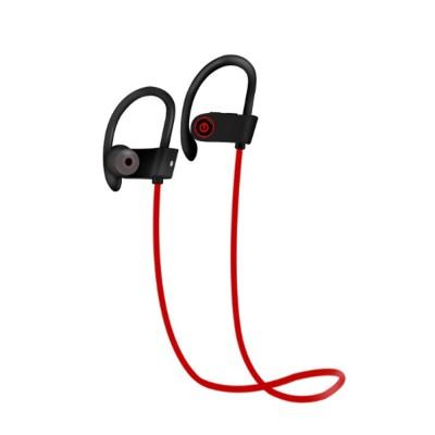 New U8 Wireless Bluetooth Headset, Hanging Ear Running Universal Headphone, Waterproof Earphone