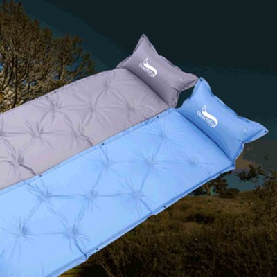 Automatic Inflatable Sleeping Bag with Pillows, Picnic Camping Essential Sleeping Bed