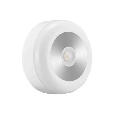 Battery-Powered LED Motion Sensor Night Light Human Induction Touch Sensor LED Cabinet Lights, Magnet Stick-on Closet Light