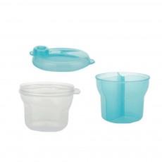 Infant Milk Powder Box, Children's Revolving Milk Powder Box, Three-Layer Snack Storage Box