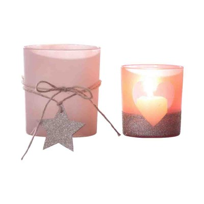 Handmade DIY Romantic Scented Candle Glass Dinner Bedroom Girly Decor Candle Holder Candlelight Props Candle Cup