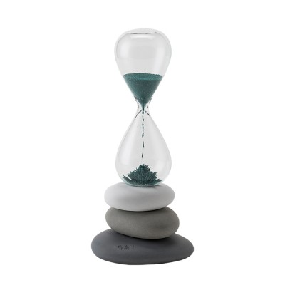 Round Pebble Hourglass Creative Personalized Desktop Timer for Decoration Creative Home Furnishings