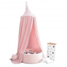 Lovely Cloth Play House Dome Veil for 0-2 Year's Old Baby Classic Color Top Lanyard Children's Tent
