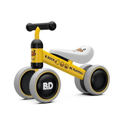 Four-Wheeler Balance Bike for 1-3 Years Old Children Without Pedals Boys and Girls Baby Toy Walker Scooter