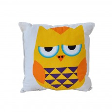 Lovely Owl Pattern Pillow for Car Home Sofa Cotton Pillow with Owl Image Cushion for Sofa