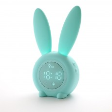 Rabbit Electronic Alarm Clock Timing Subdued Lights Magnetic Suction LED Clock Good Endurance Wake Up Tools