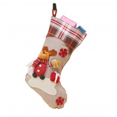 Christmas Decorations Santa Claus Snowman Socks High Quality Christmas Socks Christmas Gift Bags Decorative Gift Bags