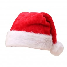 Christmas Party Props Increase Thickening Christmas Ornaments Adult Children Ordinary Christmas Plush Hats Santa Hats Cap
