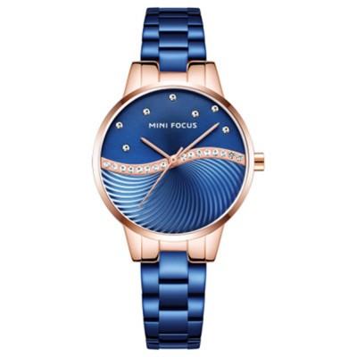 Multifunctional Electronic Watch Setting Auger, Waterproof Watch with Wear Resistant Crystal Watch Mirror for Women Elegant Quartz Wrist Watch