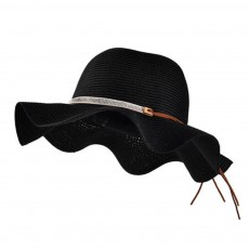 Elegant Ladies Beach Sun Hat Studded Wide Brim Hat Fashion Women Cap Fisherman Hat Best Gifts for Women