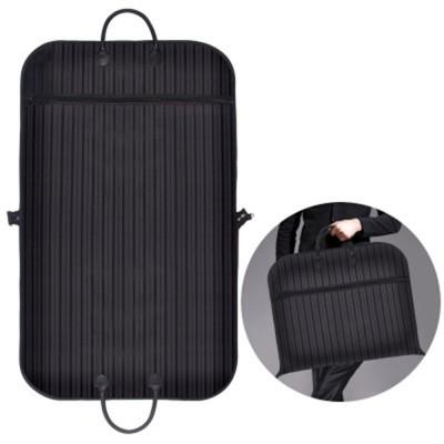 Mens Suit Travel Garment Bag Travel Suit Packing Organizer with Zipper Pocket, Dustproof Garment Folder
