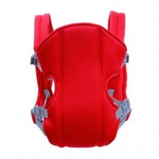 Multifunctional Breathable Newborn Baby Carrier, Adjustable Infant Front Sling Backpack with Safety Buckle