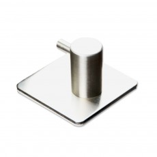 Upgraded 304 Brushed Stainless Steel Hook for Hanging Wall Sticky Hooks with Multi Purpose in Kitchen Balcony Bathroom