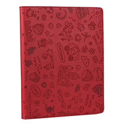 Creative Cute Stereo Cartoon Pattern iPad Protective Sleeve, Smooth PU Leather Tablet Computer Protection Case