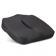 Ultra-soft Breathable Mesh Fabric Memory Foam Seat Cushion, Hollow Humanized Car Office Chair Seat Pillow