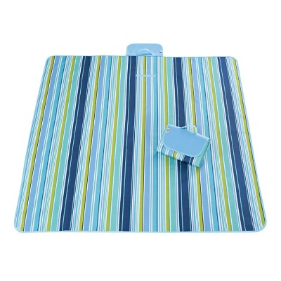 Delicate Painting Moisture-proof Waterproof Oxford Cloth Picnic Grass Blanket Camping Mat Outdoors Accessories