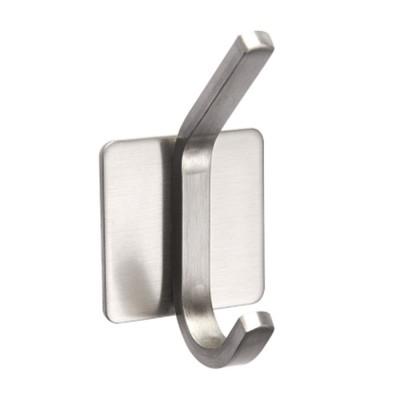 3M Glue Long Tail Hooks for Kitchen Bathroom Bedroom Hanging Waterproof 304 Stainless Steel Wall Hooks