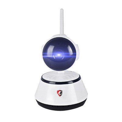 Household Security IP Cam Rotatable Wireless Intelligent Monitor WIFI Camera with Infrared Night Vision Motion Detection