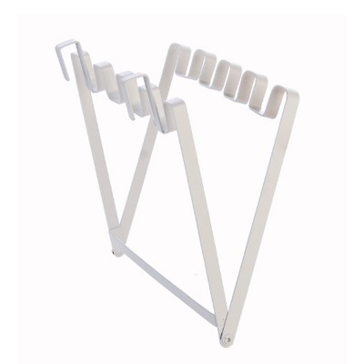 Minimalist Door Back Hanging Style Plastic Garbage Bag Holder Supporter Household Kitchen Accessories Tool