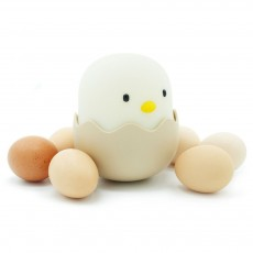 Eggshell Chicken Night Light Creative Chicken Bedside Light Baby Feeding Light Patting Lamp