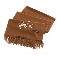 Lady's Embroidered Shawl Lady's Embroidered Cashmere Scarf for Sun & Cold Protection