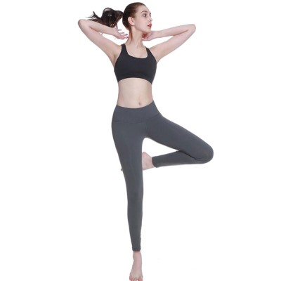 Advanced Yoga Clothes Ladies'Beauty Back Interlaced Underwear, Closed Vest Type Shock-proof Running Bra