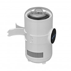 Refrigerating Heating Cup Semiconductor Refrigeration Chip Temperature Display Quick Freezing Tool with Folding Handle