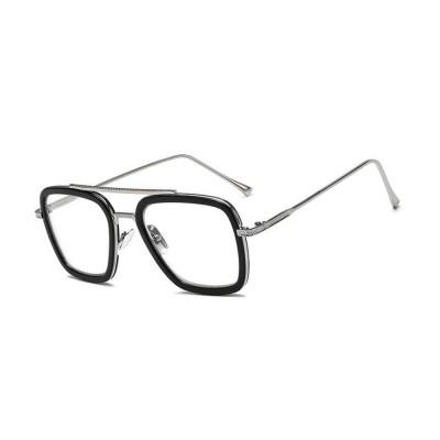 Minimalist Fashionable Square Frame Unisex Sunglasses UV Sun Light Protection Glasses for Women Men