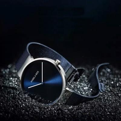 Business Style Couple Watch with Japanese Quartz Movement 30M Waterproof Ultra Thin Quartz Wristwatch Lover Wrist Watch