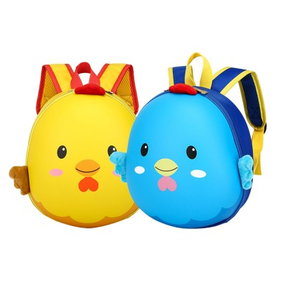 Chicken Appearance School Bag for Student Breathable Shoulder Strap Quality Buckles Metal Zipper Comfortable Handle Backpack