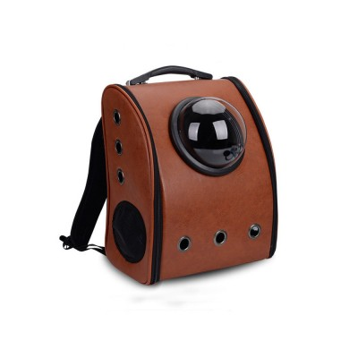 Pure Color Pet Space Capsule Backpack Nontoxic Breathable Knapsack for Dog Cat Going out Pet Products Packsack for Carrying Pet