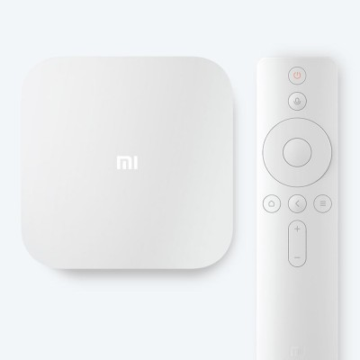 Xiaomi 4 AI Set-top Box Voice-control STB Wireless WIFI Audio Player Enhanced TV Box with Android 6.0 4K Ultra HD 2GB 8GB