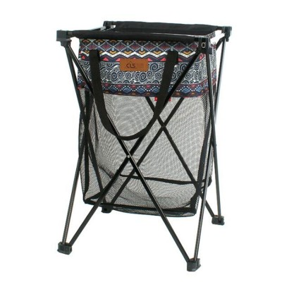 New Outdoor Receiving Basket, Multifunctional Receiving Barrel Dirty Clothes Baskets, Laundry Baskets Storage Bags Camping Garbage Hanging Rack