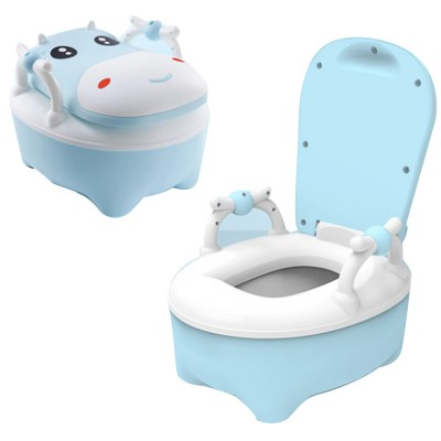 Union Cow Children Toilet Seat Baby Toilet Urinal Anti-fall Large Toilet for Boy Girl