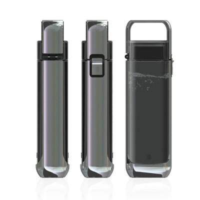 Advanced Pure Color Leakproof Click Open Water Bottle BPA Free Tritan Plastic Aquarius Business Gift