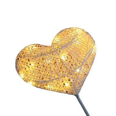 Christmas Decorative Lamp Warm White LED Star Heart Night Lamp Decorative Room Table Lamp Modeling Lamp