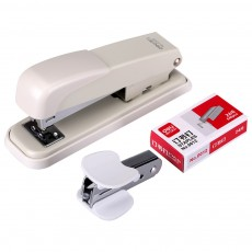 Practical Stainless Steel Stapler Set Included with Accessories Staples & Staple Remover