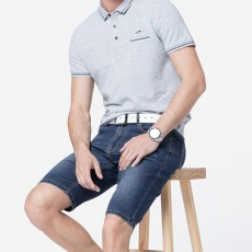New Leisure Style Loose Denim Shorts, Soft & Comfortable Thin Sports Mid-rise Jeans Pants