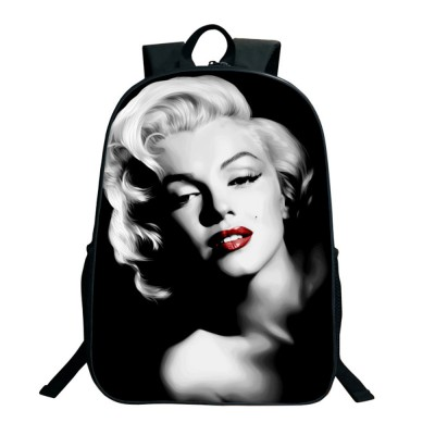 Personalized Printing Laptop Backpack Water Resistant School Computer Bag with Stylish Pattern for Boys & Girls