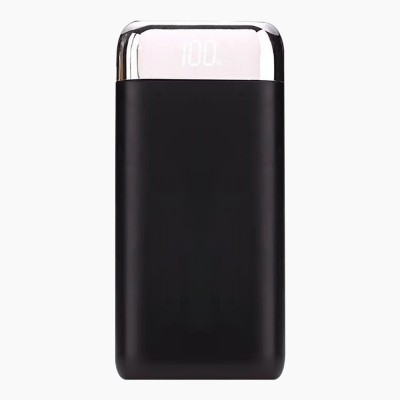 20000 MAH Large Capacity Power Bank, Minimalist Portable External Battery with Display Screen, Ultra High Capacity Power Bank for Cell Phone