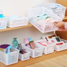 Plastic Storage Basket, Hollow Large Children's Toy Storage Basket, Kitchen Vegetable Storage Basket, wholesale