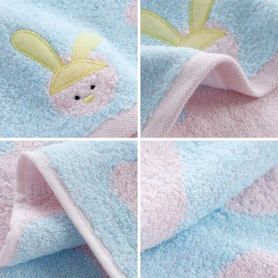 Stain Embroidery Cotton Towel, Luxury Smooth Face Washing Towel, Cute Face Towel with Cartoon Embroidery