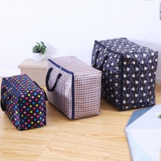 Oxford Moval Bag, Thicken Washable Quilt Storage Bag, Quilt and Clothes Oxford Cloth Storage Bag