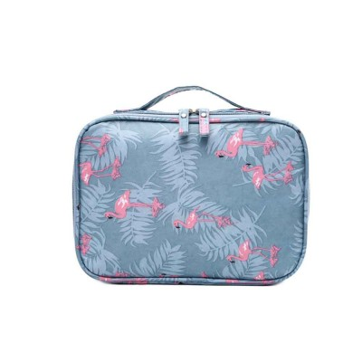 Travel Makeup Large Capacity Portable Storage Package to Collect Hand Makeup Box Layer Washing Bag