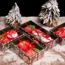 Creative Christmas Towel Sets, Christmas Cake and Santa Claus Cotton Towel for kids, Soft Smooth Washing Towel